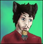 Hannibal Werewolf AU - Pocket Hannibal by FuriarossaAndMimma