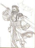 Auron Finished by auron-fan-club