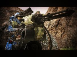 Halo Reach: Come Get Some by purpledragon104