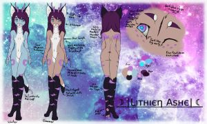Lithien Ashe ref sheet{UPDATED} by princeLithey
