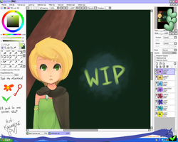 title pendingRIN KAGAMINE WIP by ThatOneGeek