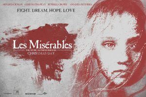 Les Miserables Movie Poster - No Blur by JSWoodhams