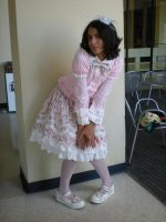 Me... in full lolita2 by HimeLoliKawaii