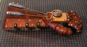 Steampunk Bracer Mark III by CraftedSteampunk