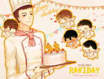 Happy Ravi's Day by Black-Quose