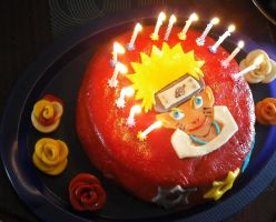 Naruto cake 2 by 898LeeLee898