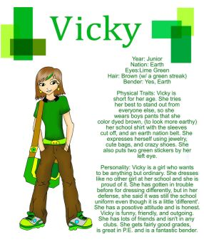 Contest entry Vicky by MMemmyMM