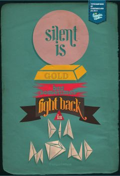 Silent Is Gold But FBID by eugeniaclara