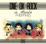 ONE OK ROCK in Manila 2015 by martaLovess