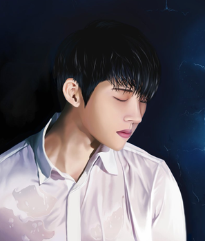 Woohyun Write.. by nepterine7