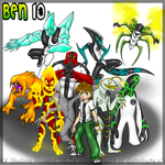 Ben 10 by shaloneSK