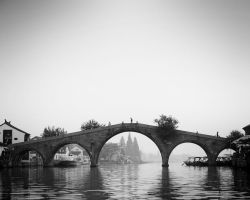 Bridge in Shanghai Suburb by Andross01