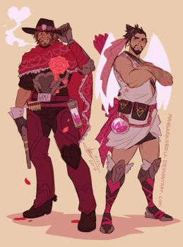 Mchanzo - Valentines Skin concepts by mangarainbow
