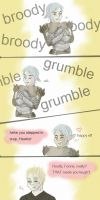 What makes Fenris laugh - DA2 by ImperialCharles