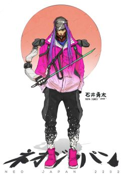 NEO JAPAN 2202 - Yuto Ishii by johnsonting