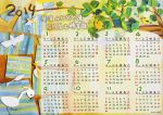 2014 Calendar by icecream80810