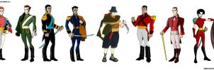 - JUSTO - Characters design by sergio-quijada