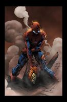 SpiderMan - David Finch / Tim Townsend / Jack Lavy by JackLavy