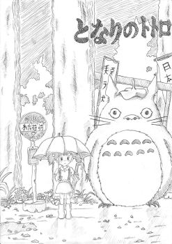 My Neighbour Totoro by CuriousBunnyClothing