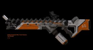 D9 Assault Rifle Final:Test by DudQuitter