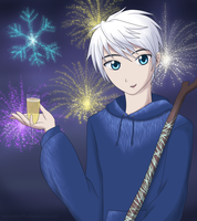 Jack Frost - Happy New Year by CeruleanShadow