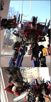 Striker Optimus Prime by Abt-Nihil