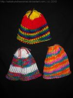 Knitted Hats for AWA by SabakuNoHeeromai