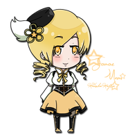 Mami Tomoe. by s-alish