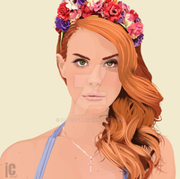 Lana Del Rey by IC-Design