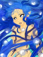 Water Goddess Redrawn!!! by The-Ravulture
