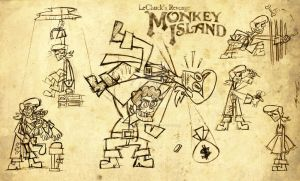 Monkey Island 2 by Cool-Hand-Mike