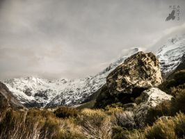Mt. Cook - Rocky view by KeArtsVisual