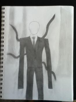 Slenderman by demturkeys
