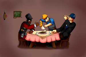 Tea party by Menaria
