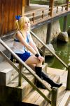 Lucy Heartfilia Cosplay Staring by MariesLife