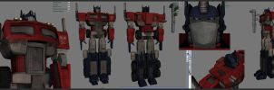 Optimus Prime - Diffuse maps by Hoabert