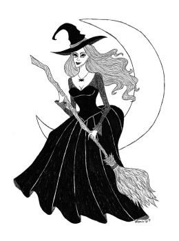 Moon Witch by Maria-Mysteria