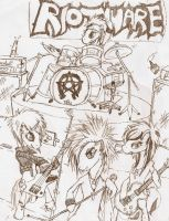 We're an Equestrian Band by SkottiCollision