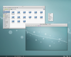 Openbox Desktop - March 2013 by kexolino