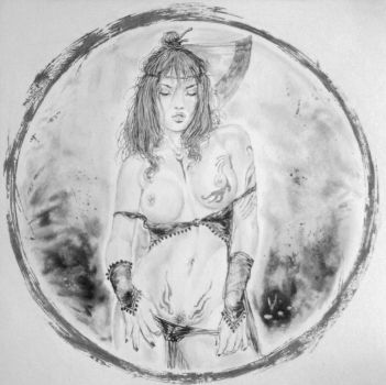 Tribute to Luis Royo by stevie-wydder