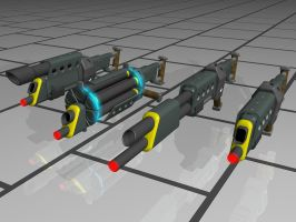 Morph Gun: Tier 1 mods by Dave-Mastor