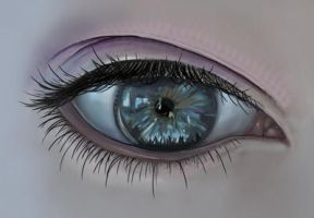 Eye on photoshop by LiamGray