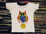 An Owl and A Cookie T-Shirt by masyankaya