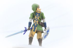 Link Snow Wallpaper, No logo by PlasticSparkPhotos