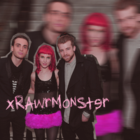 Paramore at grammy's  - Blend by xRawrMonster
