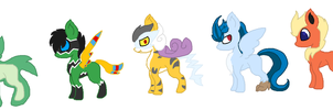 More pokemen pokemon by Kyah-Pony-Adoptables