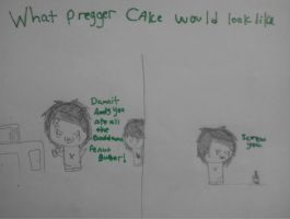 What pregger CAke would look like by XxTabbixX