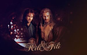 Kili and Fili 1 by JacobBlacksPrincess