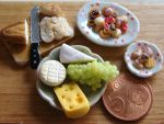 Cheese, Bread and Cookies by PetitPlat