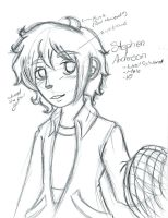 Stephy Boy Sketch by Desire-The-Right